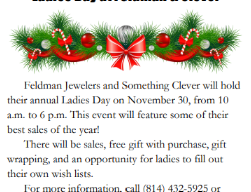 Ladies' Day November 2020