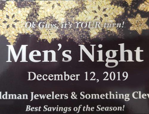 December 2019 – Men's Night